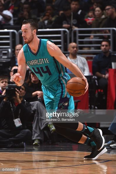 News Photo : Frank Kaminsky III of the Charlotte Hornets...