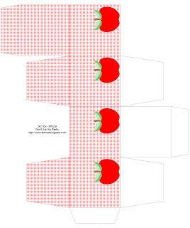 mela e percalle casella per stampare e fare