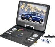 15″ inch Portable DVD Player TV USB Card Reade Game FM Radio Swivel LCD VGA RMVB