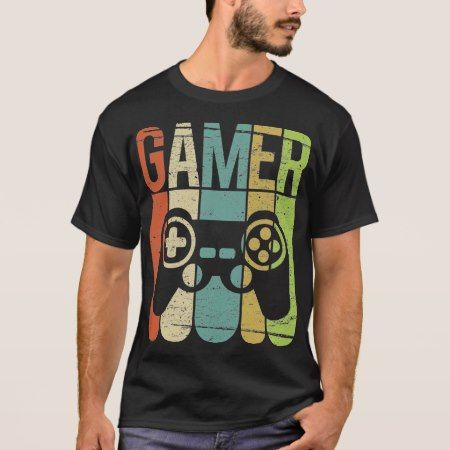 Gamer Game Controller T-Shirt - click/tap to personalize and buy
