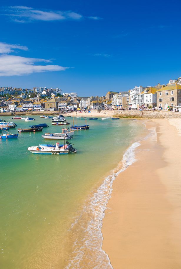 Beautiful St Ives,Cornwall, UK