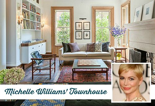 Michelle Williams' Beautiful Brooklyn Brownstone For Sale | Hookedonhouses.net