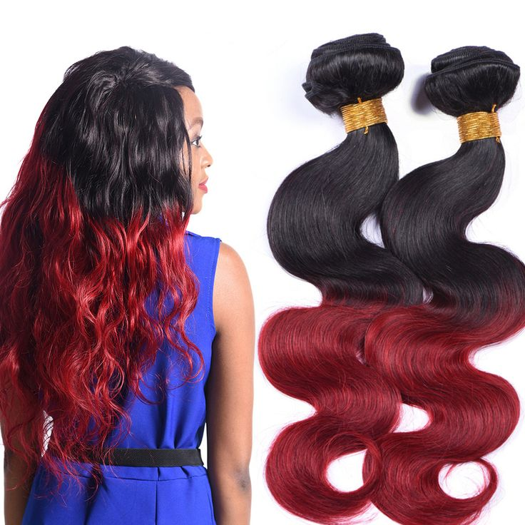 Hot Selling colored brazilian hair weave, Ombre Color Body Wave brazilian hair extensions online sale