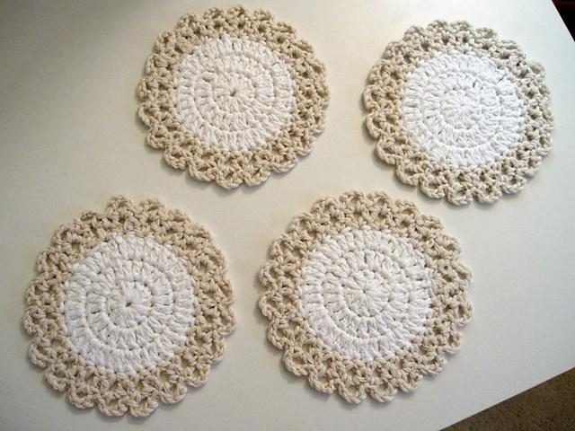 50 besten Crochet - Placemats & Coasters Bilder auf Pinterest ...