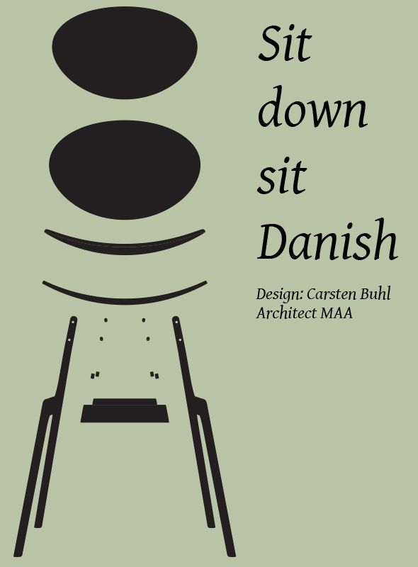 Sit down sit Danish