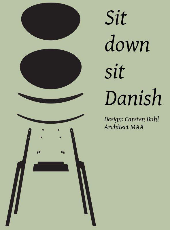 Sit down sit Danish