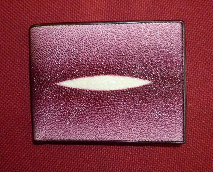 A wallet made from stingray, made in Sleman, Jogja, Indonesia