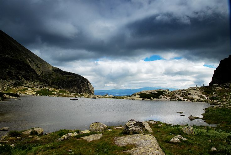 Pleso nad vodopádom Skok vo Vysokých Tatrách