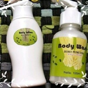 Lotion Bibit Pemutih merupakan lotion pemutih badan untuk membantu memutihkan kulit anda. Lotion bibit pemutih original mengandung komposisi Retinol boosters, AHA , Conjugated Linoleic Acid, terdapat juga komposisi SPF 15 http://creamracikanklinik.blogspot.com/2014/11/lotion-bibit-pemuth-original.html