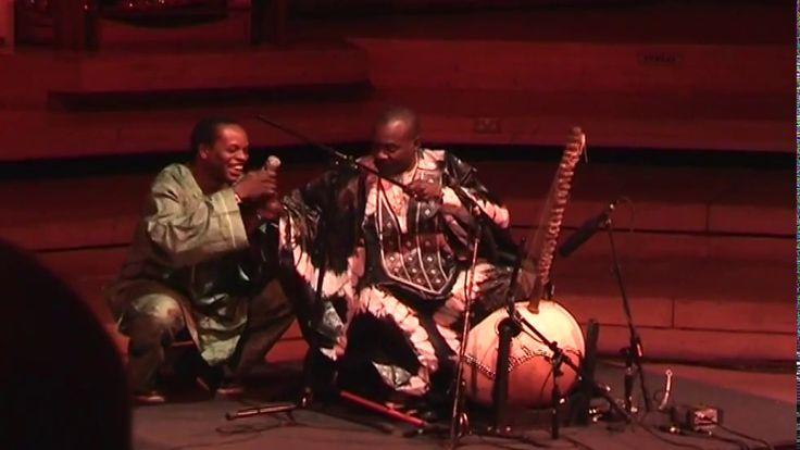 TOUMANI DIABATE/JALI FILY CISSOKHO      Jali Fily Cissokho sings praise to Toumani Diabate's family and friends https://www.youtube.com/watch?feature=share&utm_campaign=crowdfire&utm_content=crowdfire&utm_medium=social&utm_source=pinterest&v=IchseP4Nl04