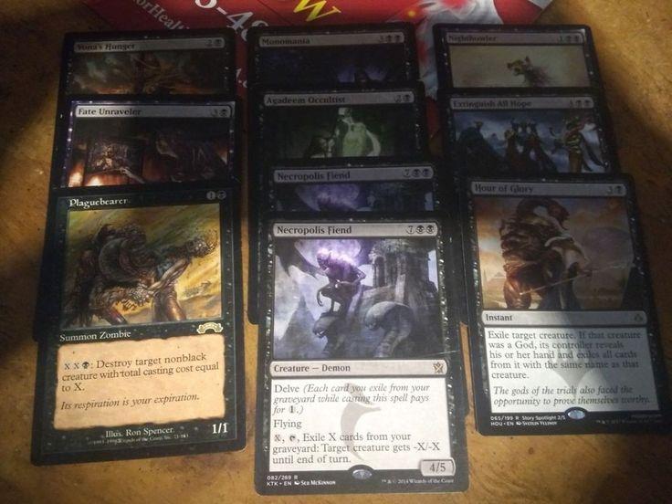 10 card black rare lot wizardsofthecoast magic the