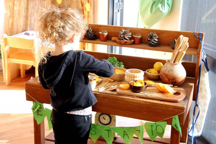 """""""Play based learning is important as it allows children to take ownership of their learning"""