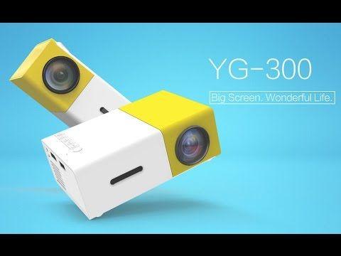 Taşınabilir Led Mini Projeksiyon Ev Sineması Hdmi+USB yg-300
