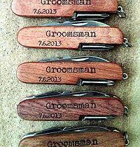 Personalized Pocket Knife