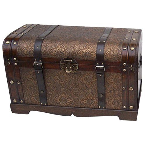 I think this needs to live with me - Old World Victorian Decorative Trunk $129.98