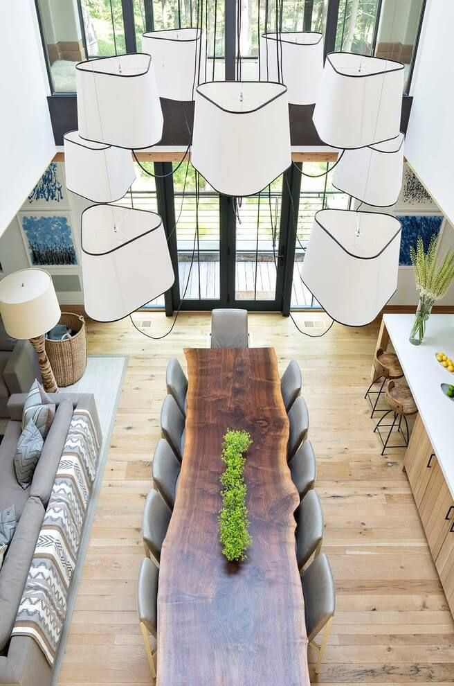 Crafted wood design new york boat house