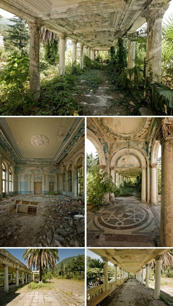 abandoned mansions new england - Google Search