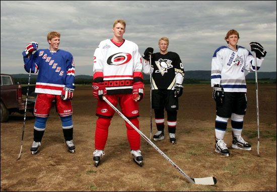 the Staal brothers