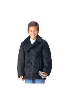 Kids US Navy Type Peacoat ! Buy Now at gorillasurplus.com