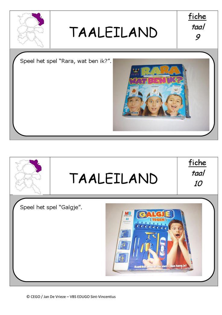 Taaleiland opdrachten 5