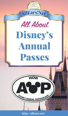 All About Disney Annual Passes | AllEars.net