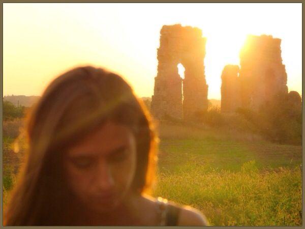 #tramonto #roma #appia #parcodellacquedotto