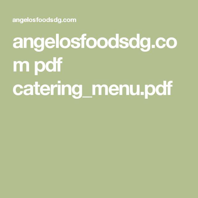 angelosfoodsdg.com pdf catering_menu.pdf