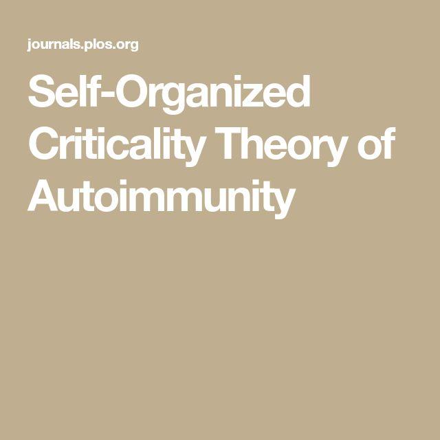 Self-Organized Criticality Theory of Autoimmunity