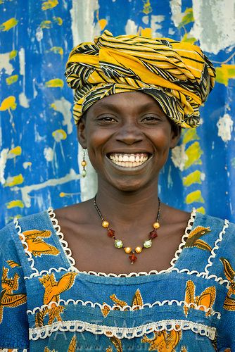 Africa | Smile of a Bambara woman, Mali. | © Art Wolfe