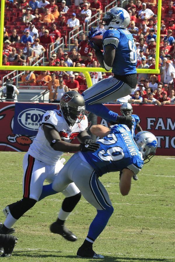 Who's ready?! Calvin Johnson, Detroit Lions #NFL #Detroit #LIONS ...Yes, Cute Calvin Johnson!