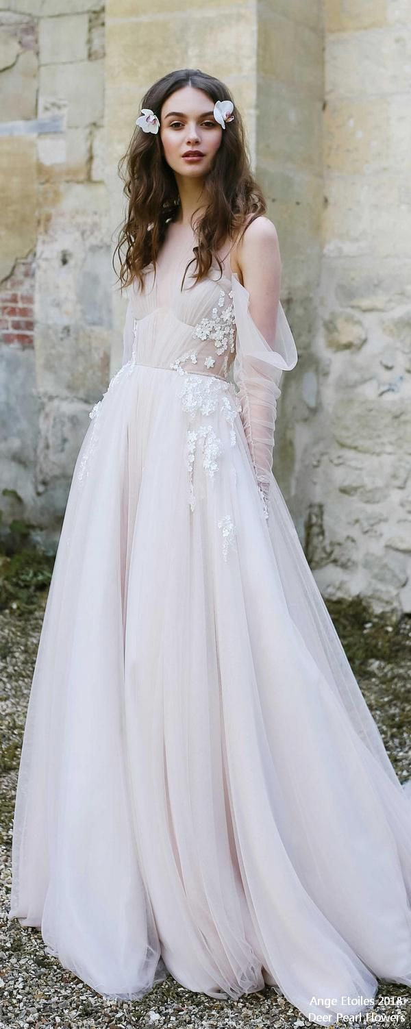 ANTONIA off the shoulder bohemian wedding dress ❤️ http://www.deerpearlflowers.com/ange-etoiles-2018-wedding-dresses/ #bridaldress #dress #weddingdress