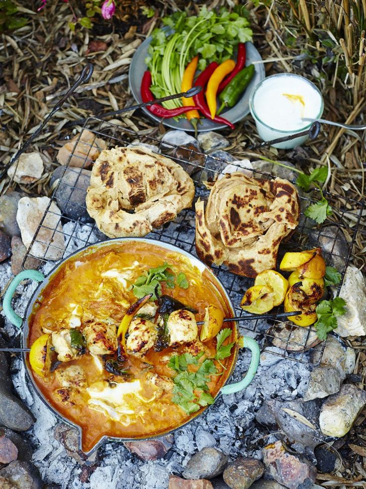 Chicken Tikka Masala | Comfort Food | Jamie Oliver -- So good! Great for having people over because you can marinate the chicken, cook the sauce and then when guests arrive, throw the chicken on the grill and add to the sauce!