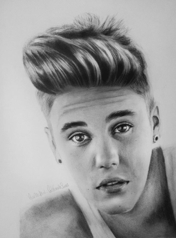 Drawings Of Justin Bieber Drawing By Me Justin Bieber
