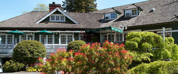 The Fish House in Stanley Park - seafood, but they do a gorgeous high tea also