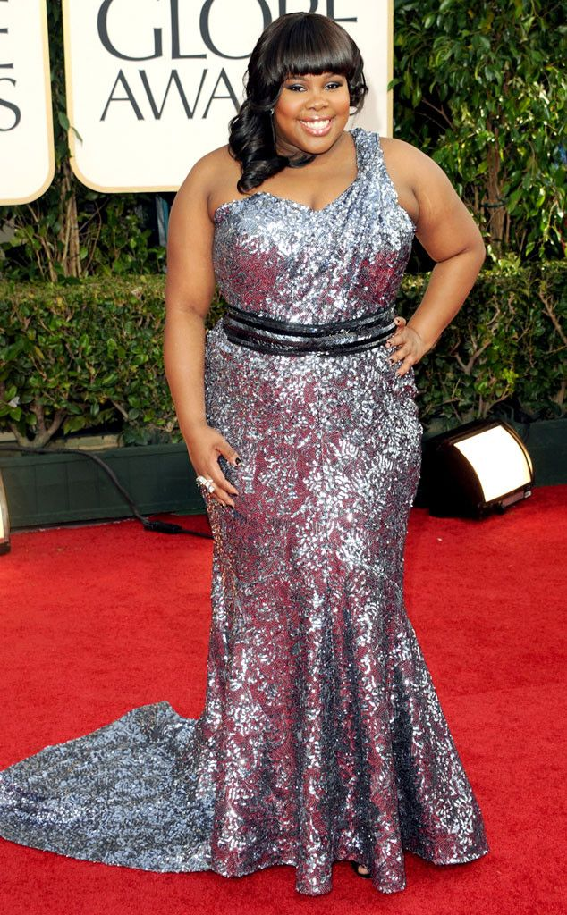 Amber Riley from A Colorful History of the Golden Globes  2011
