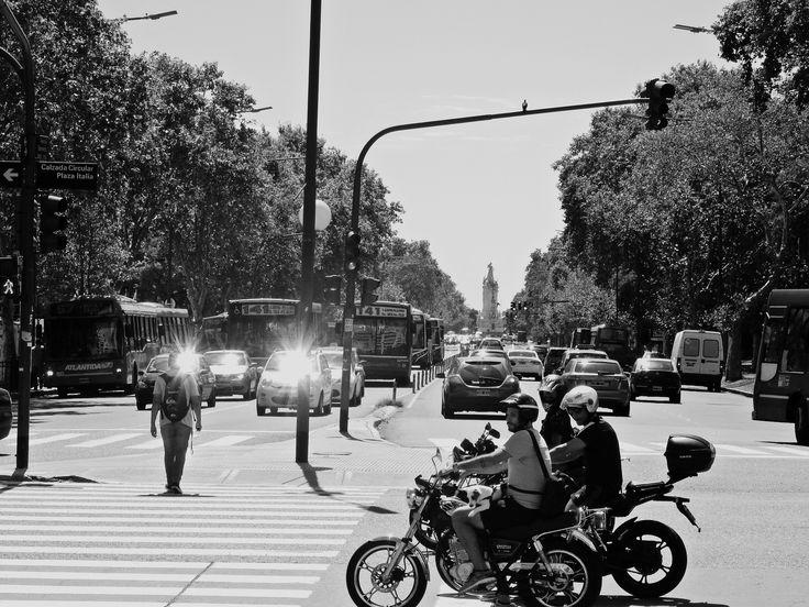 https://flic.kr/s/aHskxnozTb | Calzada Circular Plaza Italia, Buenos Aires | Calzada Circular Plaza Italia, Buenos Aires