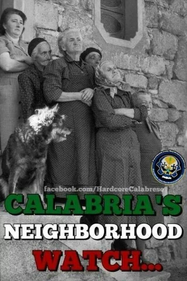 My nonna was Calabrese!