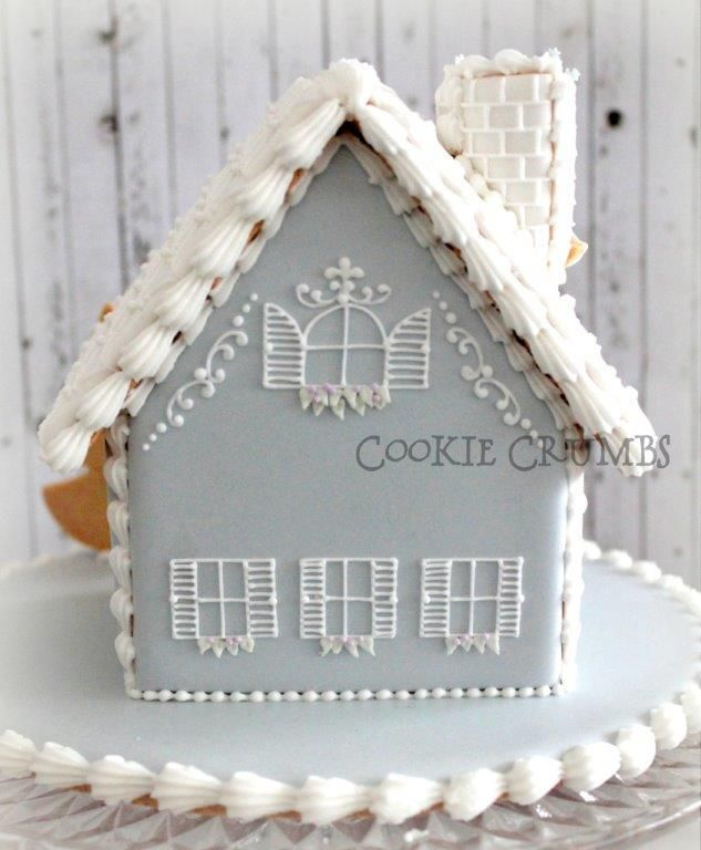 2014 winter gingerbread house