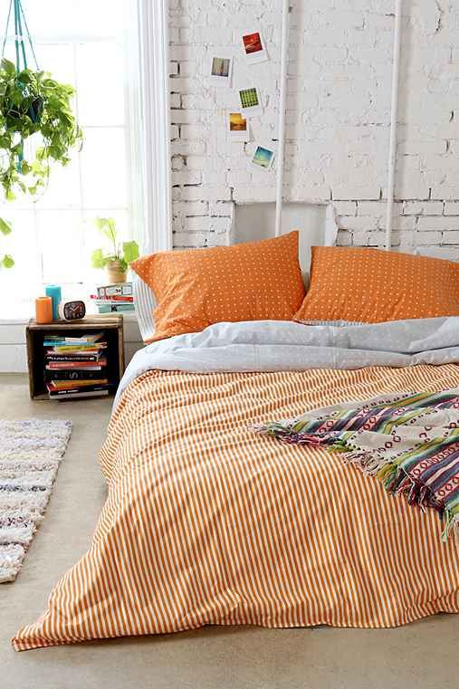 Assembly Home Tiny Stripe Duvet Cover - Urban Outfitters