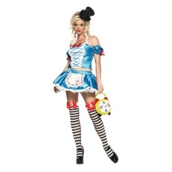 Sexy Alice in Wonderland Halloween Costumes