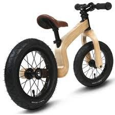 """The Early Rider Lite Wooden Balance Bike: 12"""", Wood Total Weight: 7.17lbs/ 3.25kgs Features 12"""" wheels with pneumatic tires Dual steering system (restricted and"""
