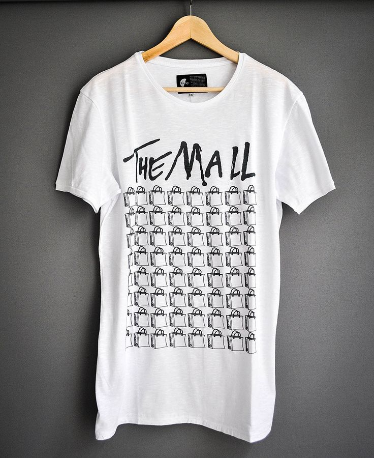 The Mall by PlayShirts on Etsy #play_shirts #playshirts #thewall #pinkfloyd #anticonsuming #anticapitalism #themall #big_fish #sharks #streetart #stencil