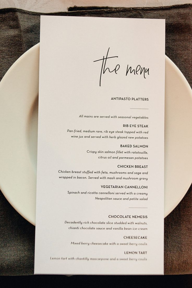 Love the design on this menu acorn-photography-dunedin-and-new-zealand-wedding-photography_0120