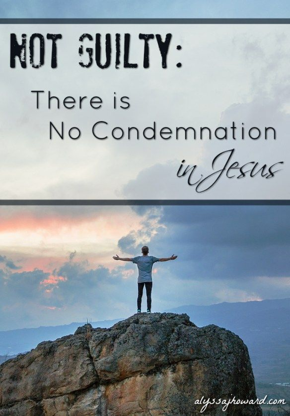 There is no condemnation in Jesus. Many of us have heard this truth as believers, but what does it mean to walk in it? I can know that I'm forgiven by God, but how do I reconcile that with the fact that I sometimes struggle and I still mess up from time to time?