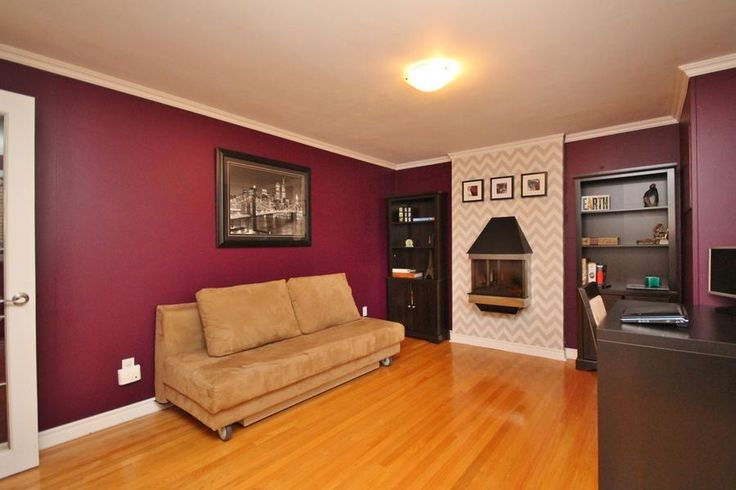 Office (or 5th bedroom/den) with fireplace. #Ottawa #ottawarealestate