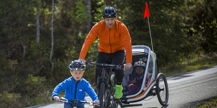Kid favorite - Parent approved. Why you'll love Hamax child bike seats and multi-sport trailers