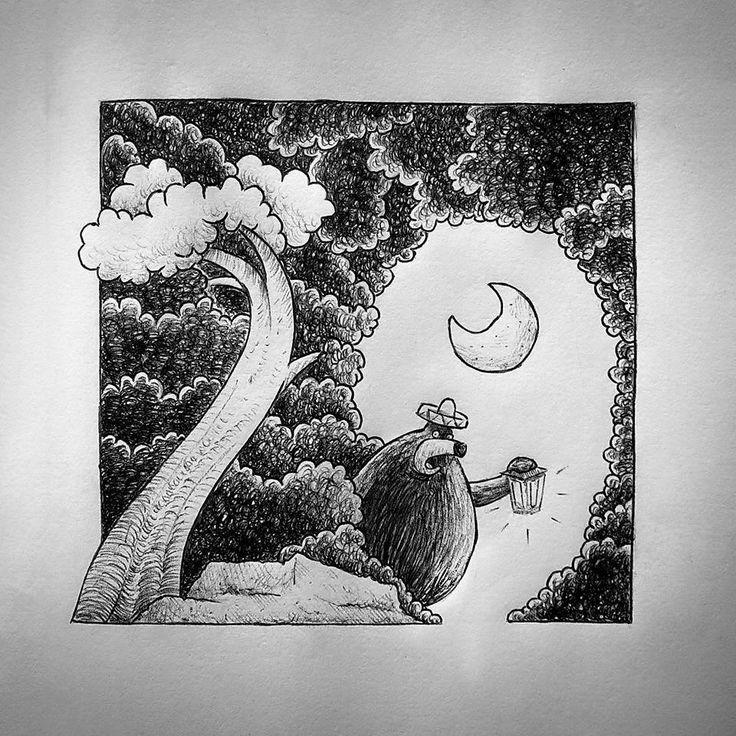 Guido Vitabile - illustration - #inktober #inktober2015 #inktobersonsy #massoneriacreativa - www.massoneriacreativa.com