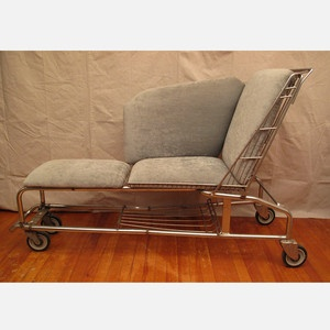 Too cool.    Shopping Cart Chaise now featured on Fab.