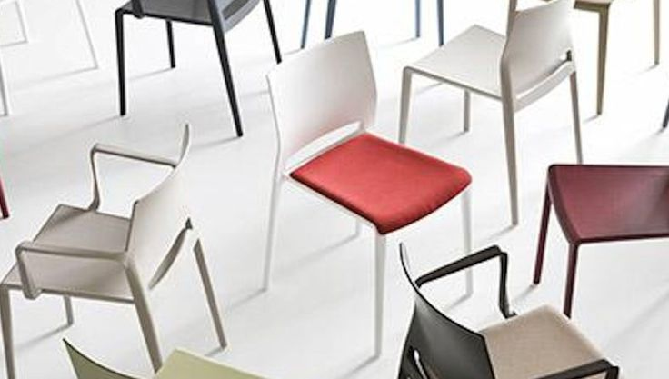 Bakhita chairs, with and without armrests