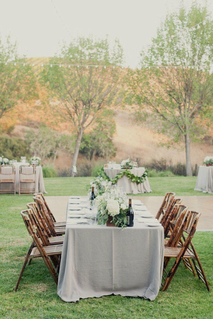 Classic Outdoor Reception 17 best Outdoor Wedding